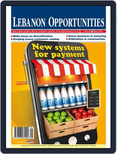 Lebanon Opportunities March 1st, 2016 Digital Back Issue Cover