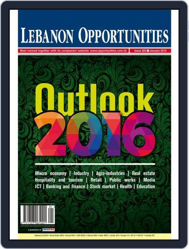 Lebanon Opportunities January 1st, 2016 Digital Back Issue Cover