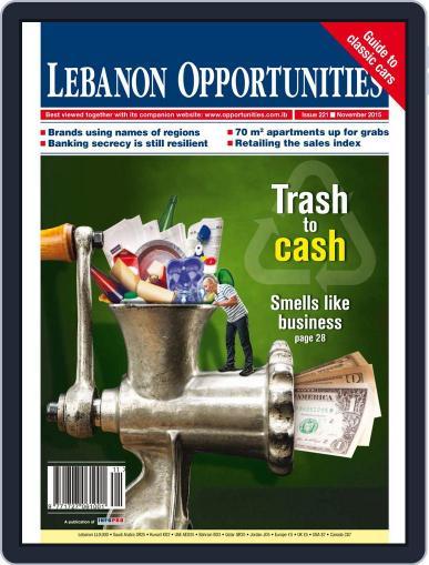 Lebanon Opportunities November 5th, 2015 Digital Back Issue Cover