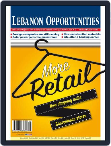 Lebanon Opportunities (Digital) October 6th, 2015 Issue Cover