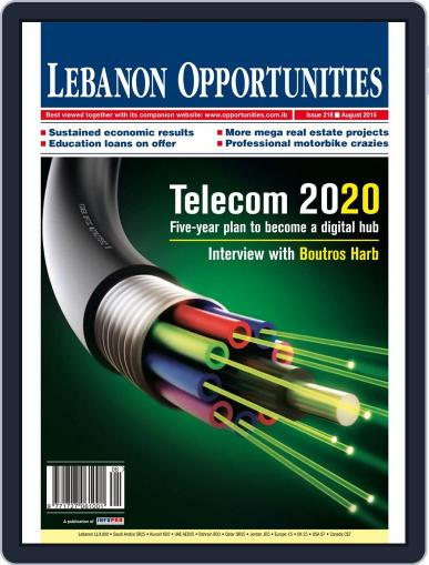 Lebanon Opportunities August 4th, 2015 Digital Back Issue Cover