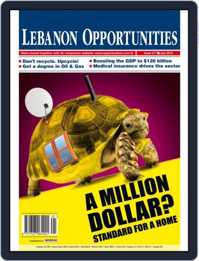 Lebanon Opportunities July 6th, 2015 Digital Back Issue Cover