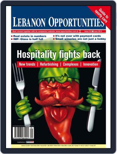 Lebanon Opportunities June 1st, 2015 Digital Back Issue Cover
