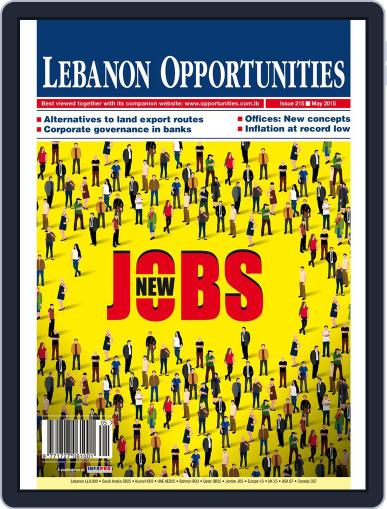 Lebanon Opportunities May 1st, 2015 Digital Back Issue Cover