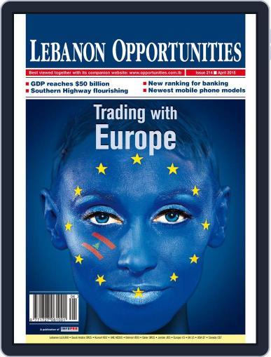 Lebanon Opportunities April 1st, 2015 Digital Back Issue Cover
