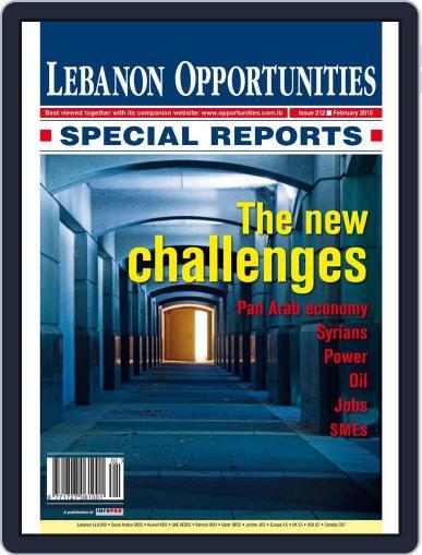 Lebanon Opportunities (Digital) February 1st, 2015 Issue Cover