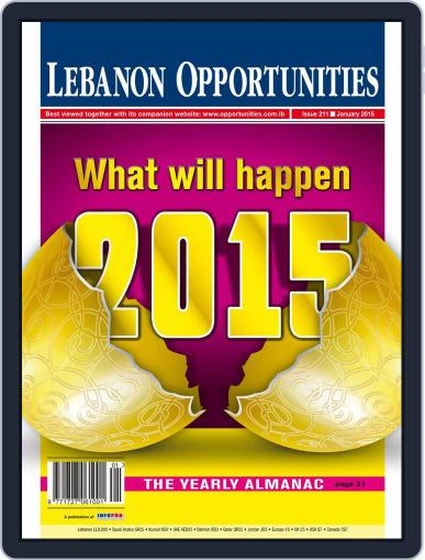 Lebanon Opportunities January 4th, 2015 Digital Back Issue Cover