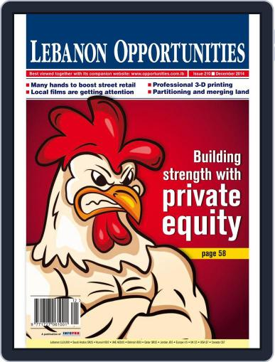 Lebanon Opportunities (Digital) December 6th, 2014 Issue Cover