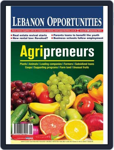 Lebanon Opportunities (Digital) September 8th, 2014 Issue Cover