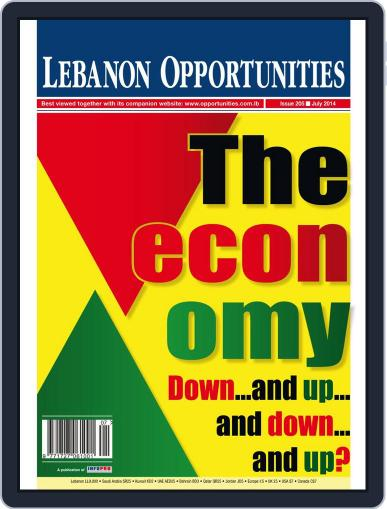 Lebanon Opportunities July 6th, 2014 Digital Back Issue Cover