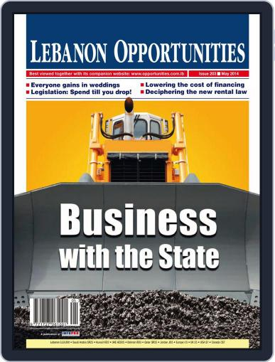 Lebanon Opportunities May 6th, 2014 Digital Back Issue Cover