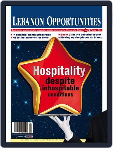 Lebanon Opportunities February 5th, 2014 Digital Back Issue Cover
