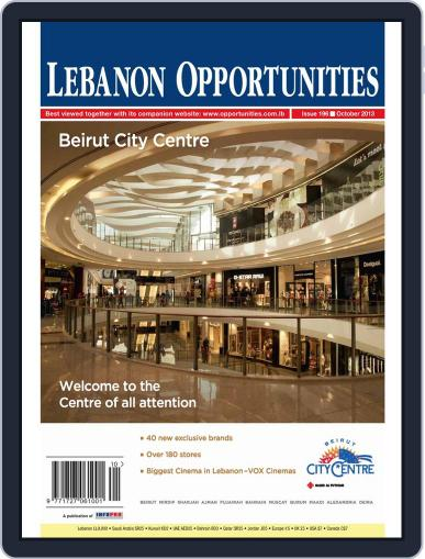Lebanon Opportunities (Digital) October 4th, 2013 Issue Cover