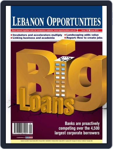 Lebanon Opportunities (Digital) June 5th, 2013 Issue Cover