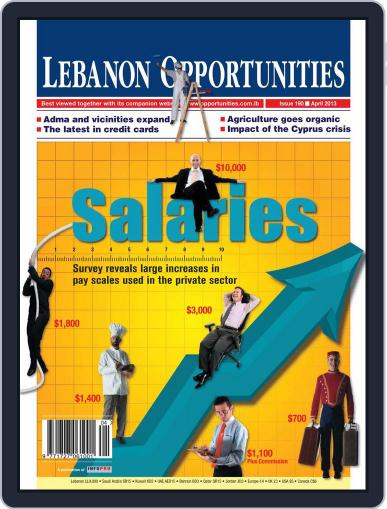 Lebanon Opportunities (Digital) April 5th, 2013 Issue Cover