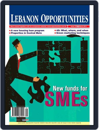 Lebanon Opportunities March 6th, 2013 Digital Back Issue Cover