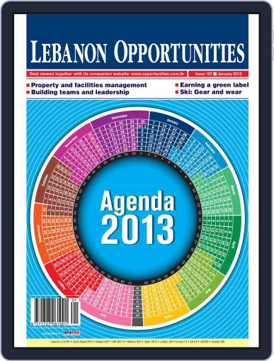 Lebanon Opportunities (Digital) January 4th, 2013 Issue Cover