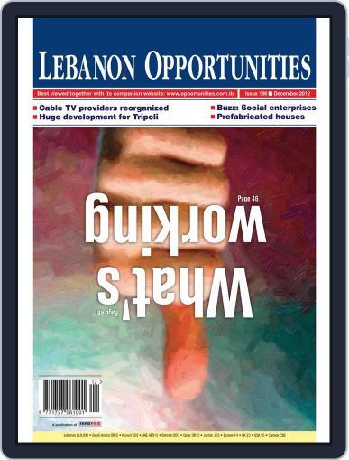 Lebanon Opportunities (Digital) December 7th, 2012 Issue Cover