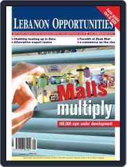 Lebanon Opportunities (Digital) Subscription September 4th, 2012 Issue