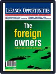 Lebanon Opportunities (Digital) Subscription August 4th, 2012 Issue