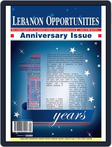 Lebanon Opportunities (Digital) April 4th, 2012 Issue Cover