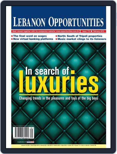 Lebanon Opportunities February 4th, 2012 Digital Back Issue Cover