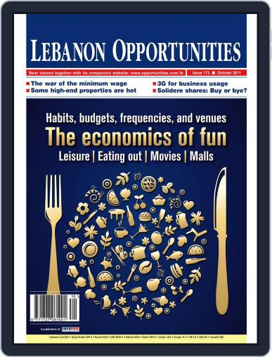 Lebanon Opportunities (Digital) October 7th, 2011 Issue Cover