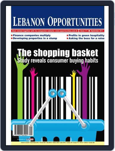 Lebanon Opportunities September 4th, 2011 Digital Back Issue Cover