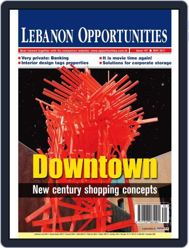 Lebanon Opportunities May 5th, 2011 Digital Back Issue Cover
