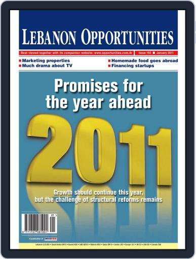 Lebanon Opportunities (Digital) January 7th, 2011 Issue Cover