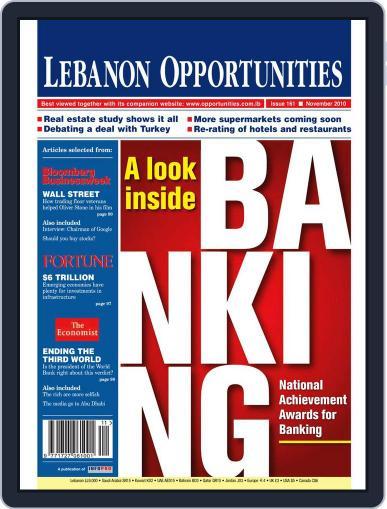 Lebanon Opportunities (Digital) November 5th, 2010 Issue Cover