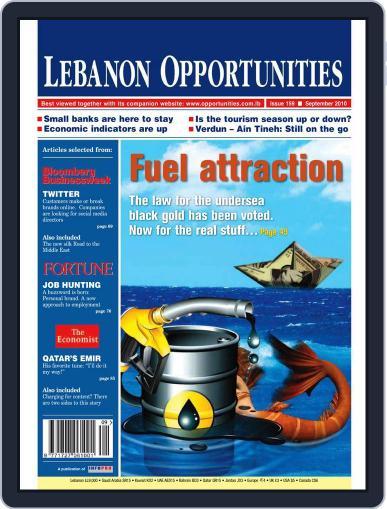 Lebanon Opportunities (Digital) September 7th, 2010 Issue Cover