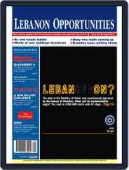 Lebanon Opportunities (Digital) Subscription August 5th, 2010 Issue