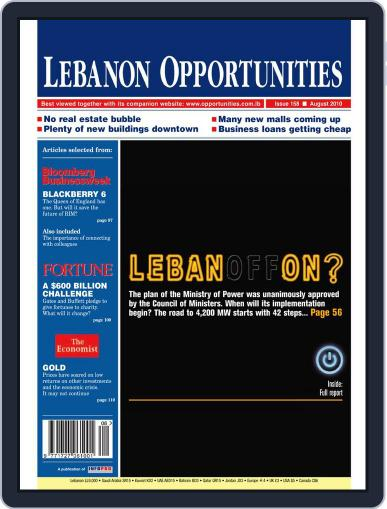 Lebanon Opportunities (Digital) August 5th, 2010 Issue Cover