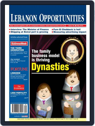 Lebanon Opportunities (Digital) May 5th, 2010 Issue Cover