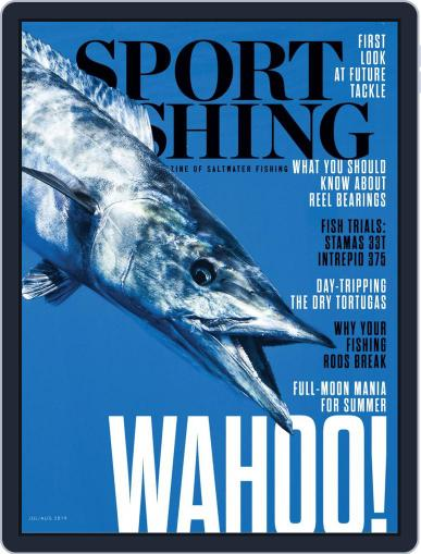 Sport Fishing July 1st, 2019 Digital Back Issue Cover