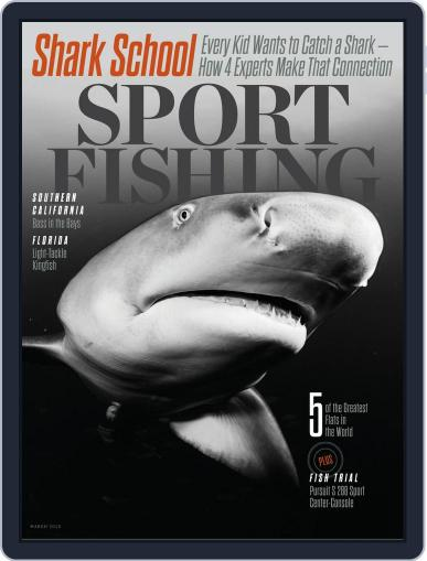 Sport Fishing (Digital) February 11th, 2019 Issue Cover