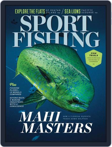Sport Fishing August 11th, 2018 Digital Back Issue Cover
