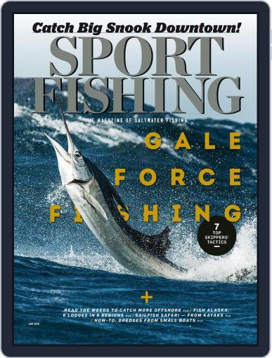 Sport Fishing (Digital) January 1st, 2018 Issue Cover