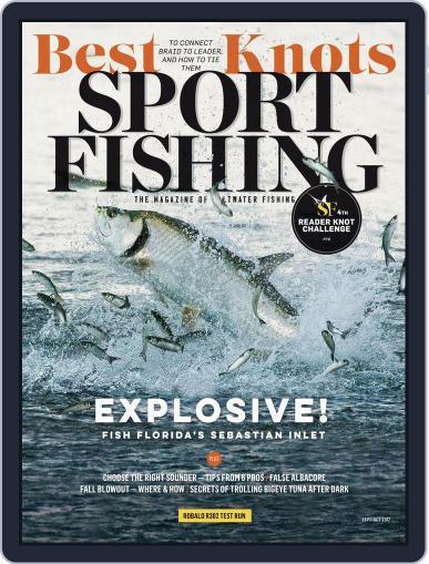 Sport Fishing September 1st, 2017 Digital Back Issue Cover