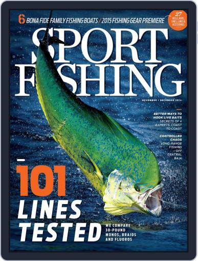 Sport Fishing October 18th, 2014 Digital Back Issue Cover