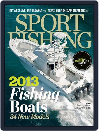 Sport Fishing (Digital) December 15th, 2012 Issue Cover