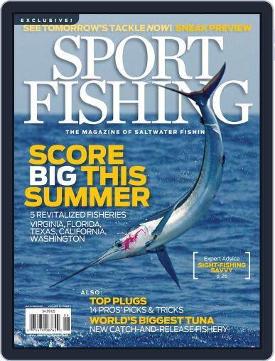 Sport Fishing June 18th, 2011 Digital Back Issue Cover