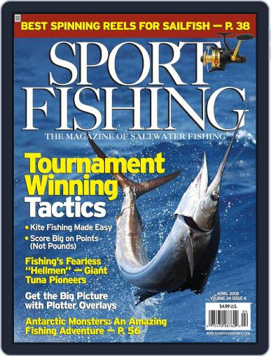 Sport Fishing (Digital) March 24th, 2009 Issue Cover