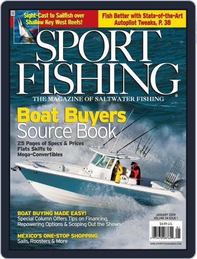 Sport Fishing (Digital) December 20th, 2008 Issue Cover