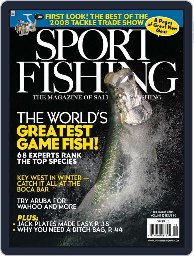 Sport Fishing (Digital) October 25th, 2008 Issue Cover