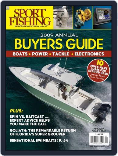 Sport Fishing (Digital) September 27th, 2008 Issue Cover