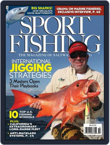 Sport Fishing (Digital) August 18th, 2008 Issue Cover