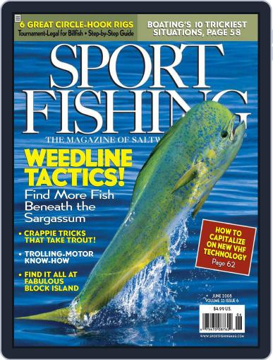 Sport Fishing May 17th, 2008 Digital Back Issue Cover