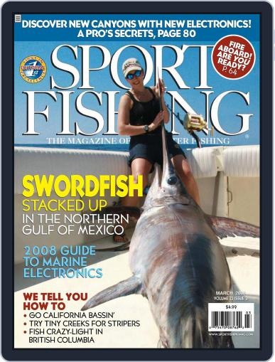 Sport Fishing (Digital) March 9th, 2008 Issue Cover